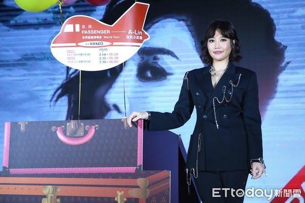 ▲A-Lin今舉辦免費音樂會 。(圖/記者徐文彬攝)